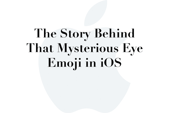 ios eye emoji