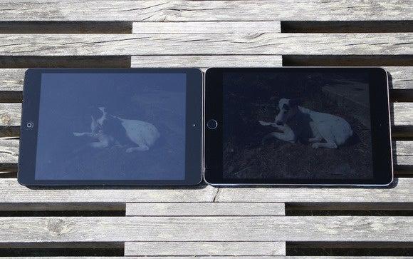 ipad mini 4 screen sunlight