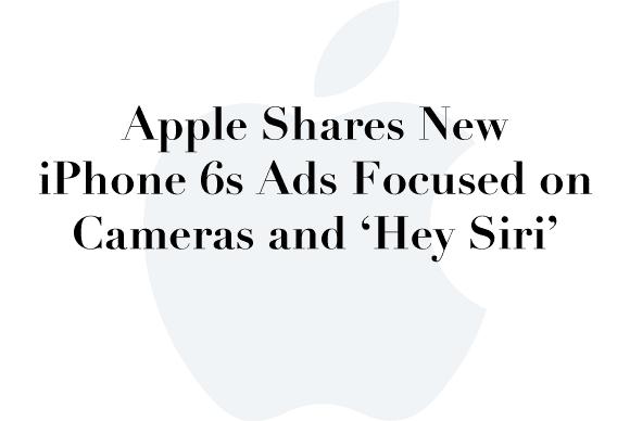 iphone 6s ads siri