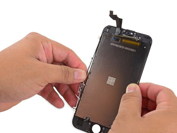 timeless design 22dc8 d7c03 iPhone 6s display teardown reveals how 3D Touch sensors actually ...