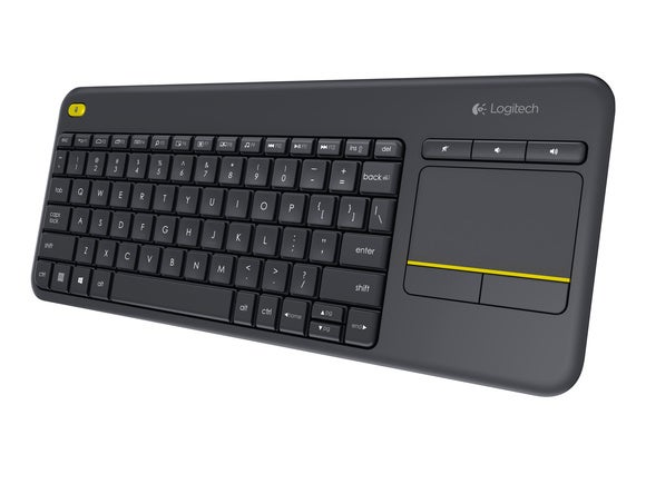 Logitech Wireless Touch Keyboard K400 Plus review: Stylish