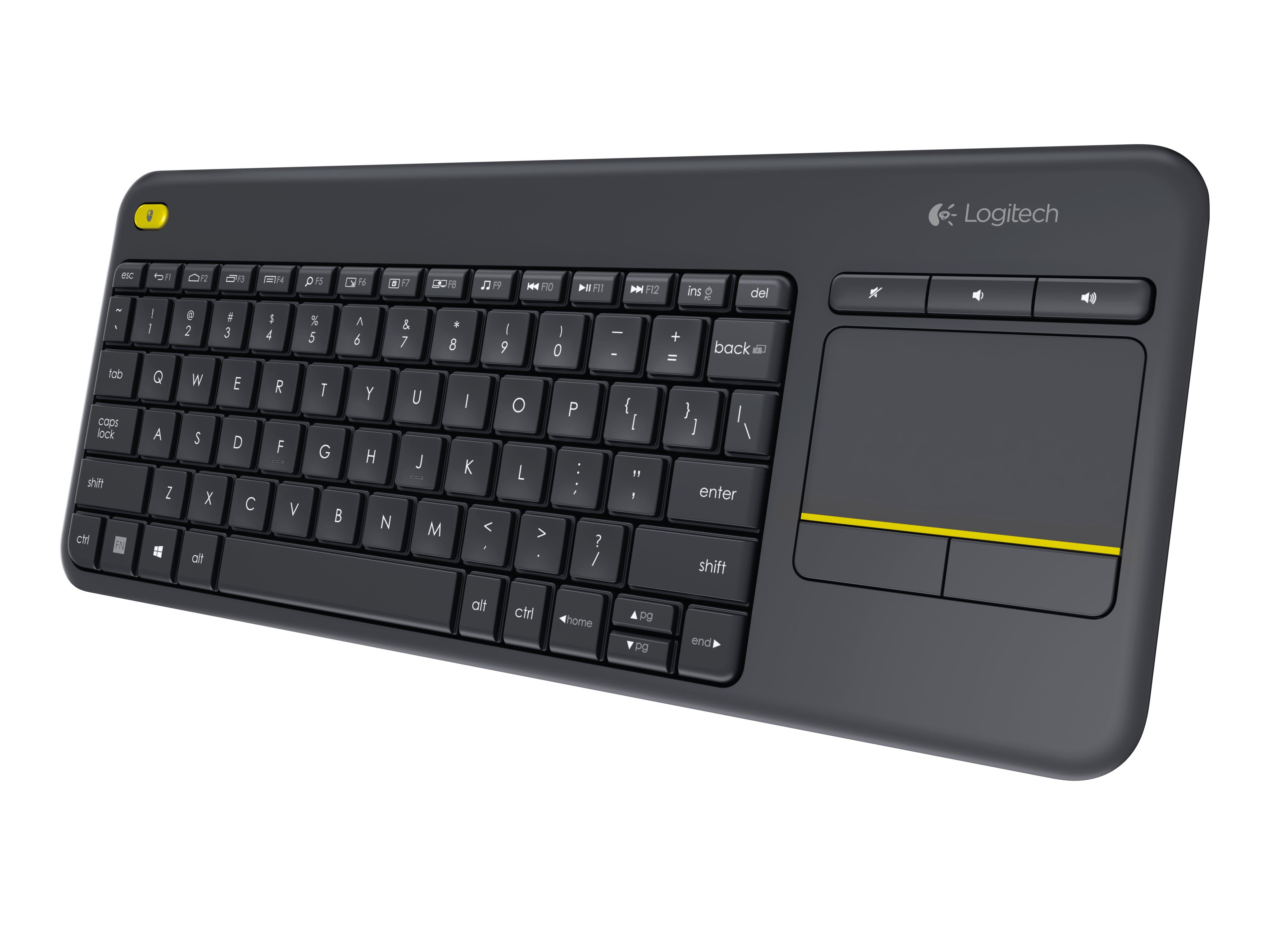 Logitech Wireless Touch Keyboard K400 Plus review: Stylish couch keyboard |  Macworld