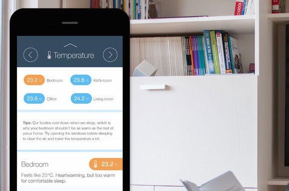 Koto Storm sensor and app