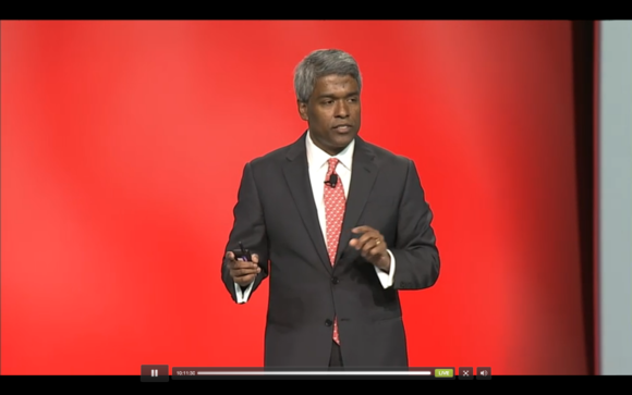 Thomas Kurian Oracle OpenWorld