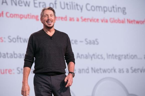 Oracle profit slides again despite rapid growth in cloud