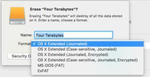 mac911 case sensitive disk utility