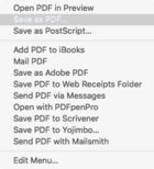 mac911 save as pdf