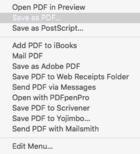 mac911 save as pdf