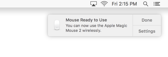magic mouse 2 pairing