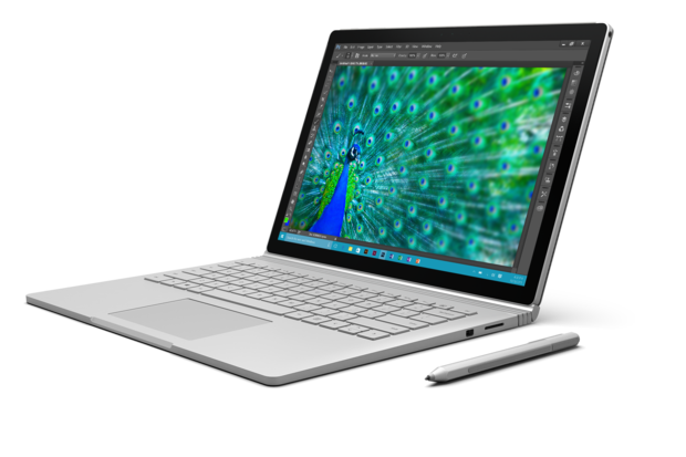 Microsoft Surface Book running Adobe Photoshop Creative Cloud / CC [2015]