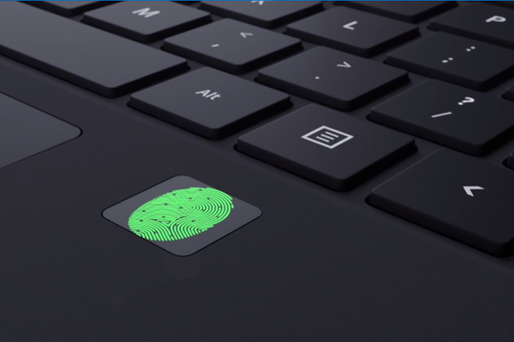 microsoft surface pro 4 fingerprint reader