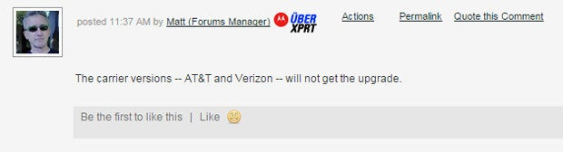 Moto X Forum Comment