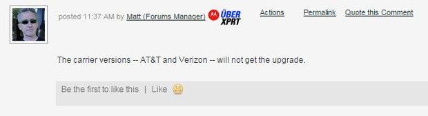 Moto X Forum Comment