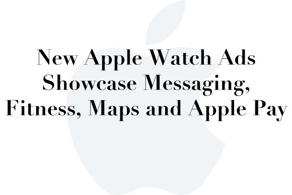 new apple watch ads