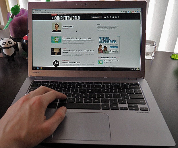 New Toshiba Chromebook 2 Hands On