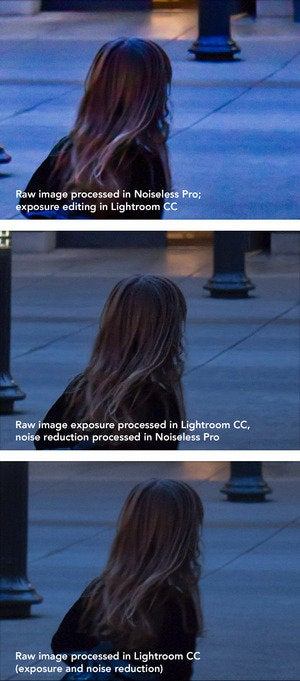 noiseless pro vs lr raw