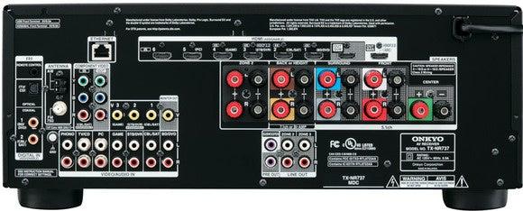 Onkyo TX-NR737 back