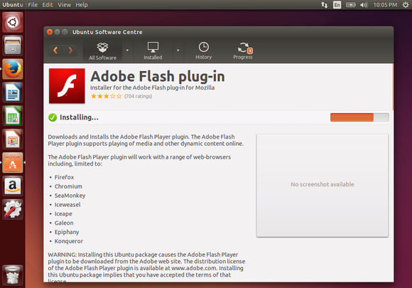 outdated flash 11 from repositories