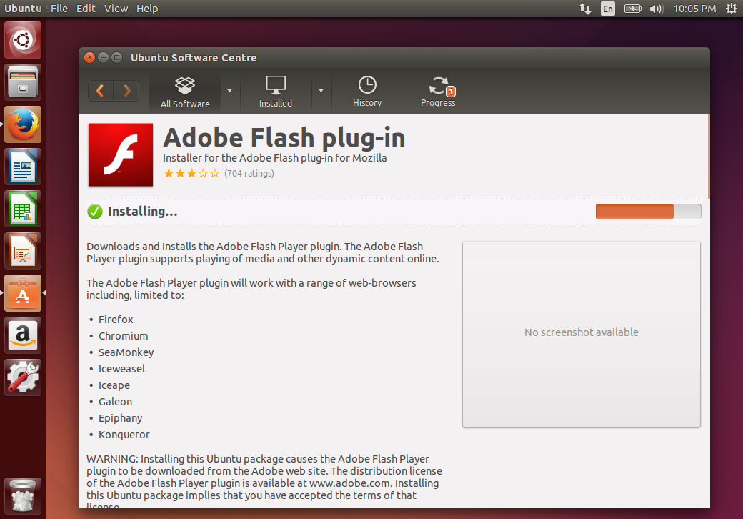 Flash player 8 version