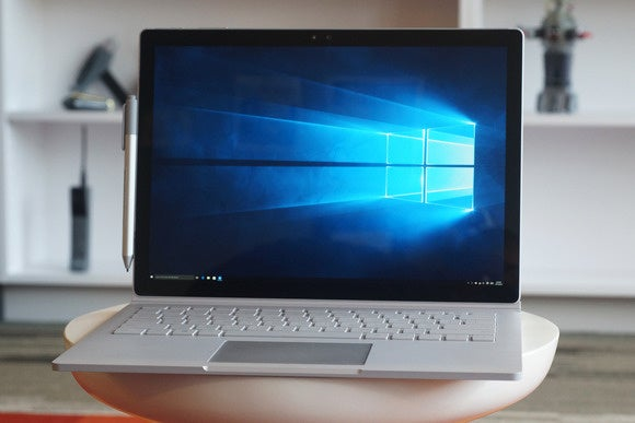 Microsoft Surface Book laptop review problems reported software bugs