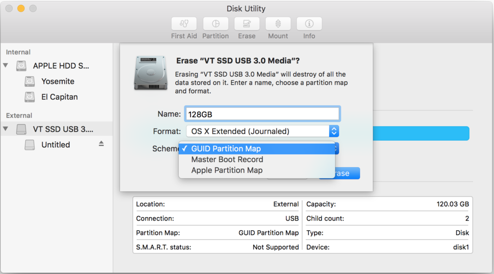 How to format a startup drive in El Capitan | Macworld