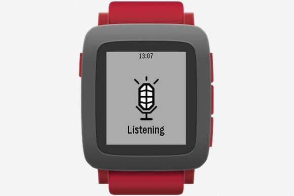 Pebble: New Smartwatch Opts for Voice Control and Control Buttons