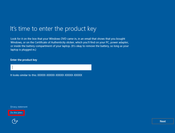 How to upgrade from pirated windows to legitimate windows 10 pcworld productkey2 ccuart Choice Image