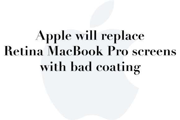retina macbook pro bad screens