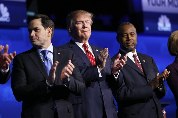 At GOP debate, Rubio says he's against H-1B abuses, Trump has memory lapse