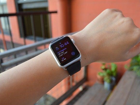 sarah incipio premium leather on wrist