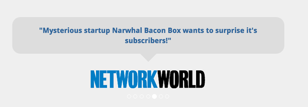 narwhal bacon box quote?