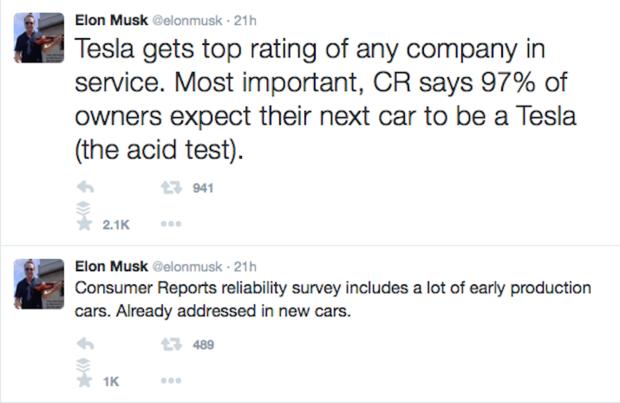 Elon Must tweet