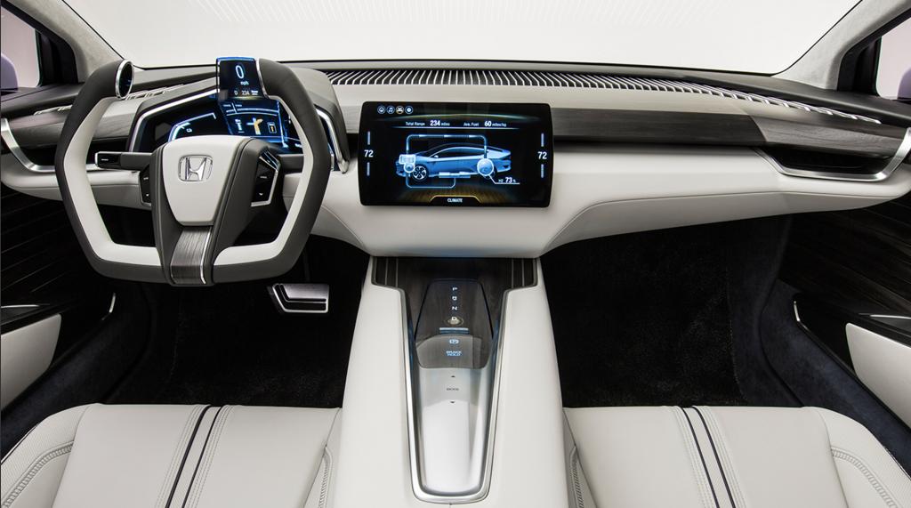 Honda Unveils Hydrogen Powered Car With 400 Mile Range