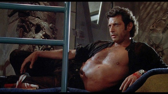 Jeff uh, uh, uh Finds-A-Way Goldblum