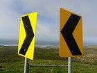 signs arrow confused