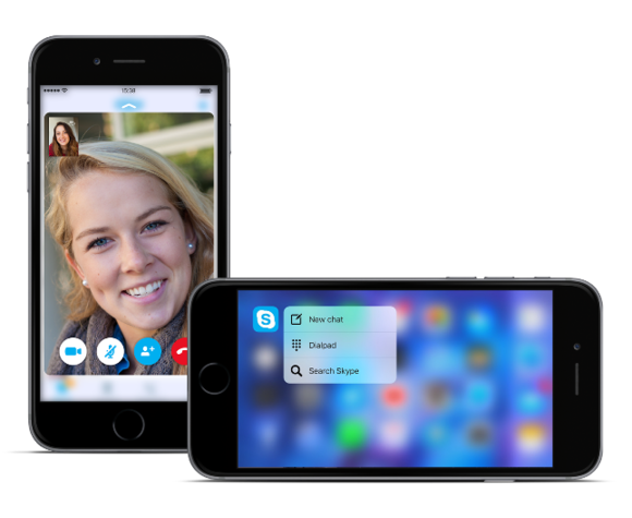 skype iphone tools