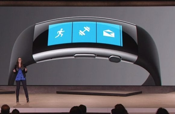 slider microsoft band