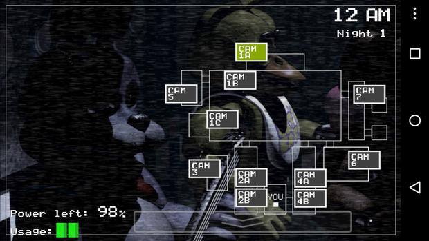 spooky games fivenights