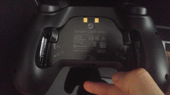 steam controller rear