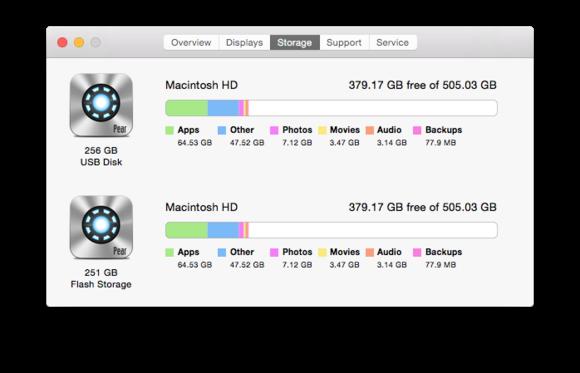 tardisk mac about this mac