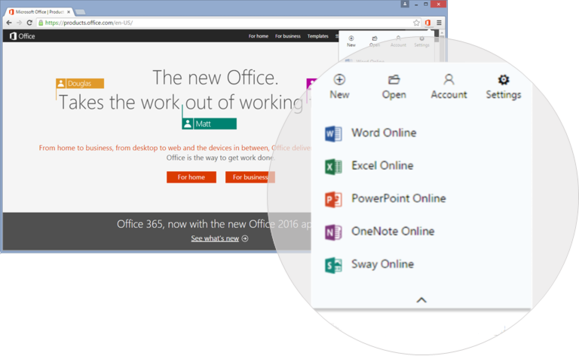 office chrome plugin