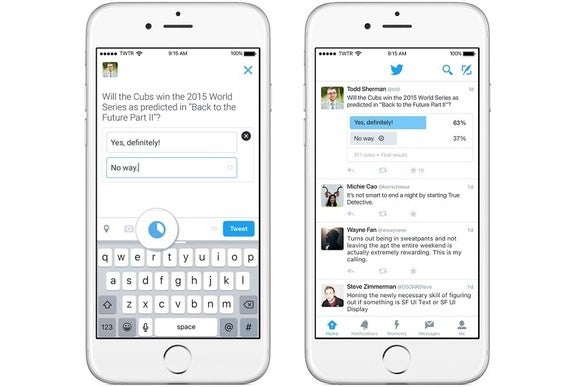 Twitter adds a proper way to poll your followers