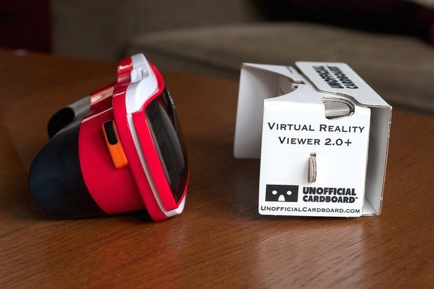 viewmaster vr compare cardboard