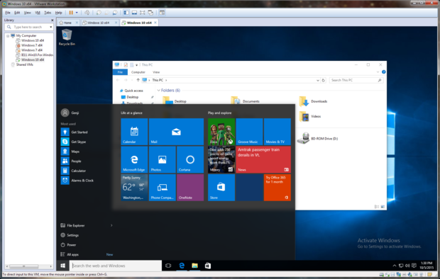 Review: VMware Workstation 12 gets a shine for Windows 10 | InfoWorld