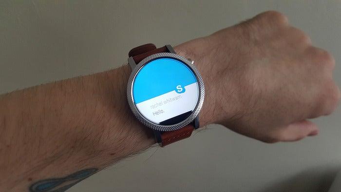 wear messaging skype