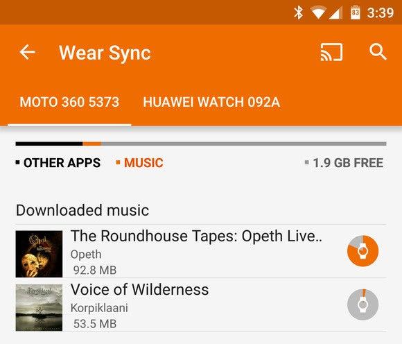 wear music sync