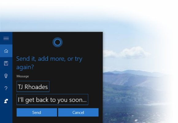 windows 10 send message form pc large