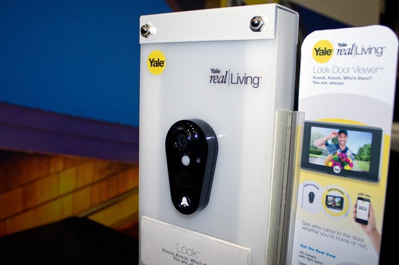 Yale enters the doorbell-camera market with the Look peephole viewer