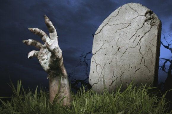 zombie grave