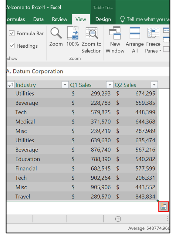 excel-2016-quick-analysis-button